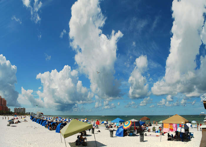 sunny beaches of clearwater orlando