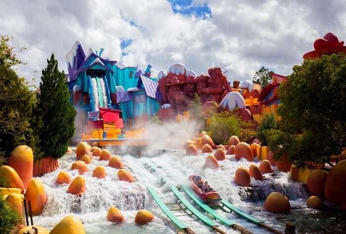 water park in universal