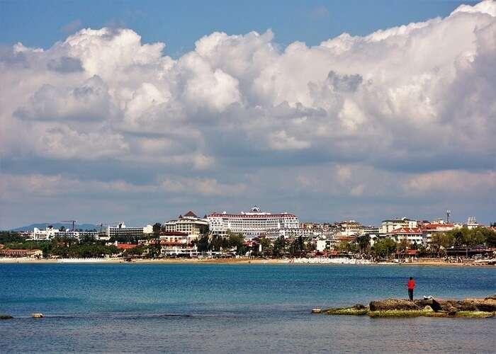 the view of Dalia Beach Club