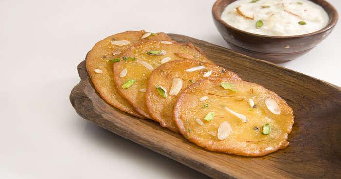 golden malpua the perfect dessert