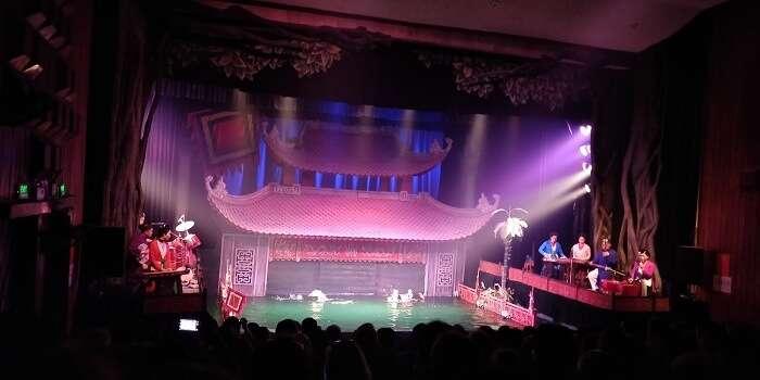 puppet show in hanoi
