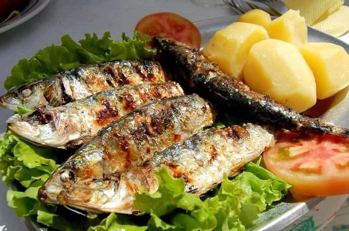 sardinas assadas