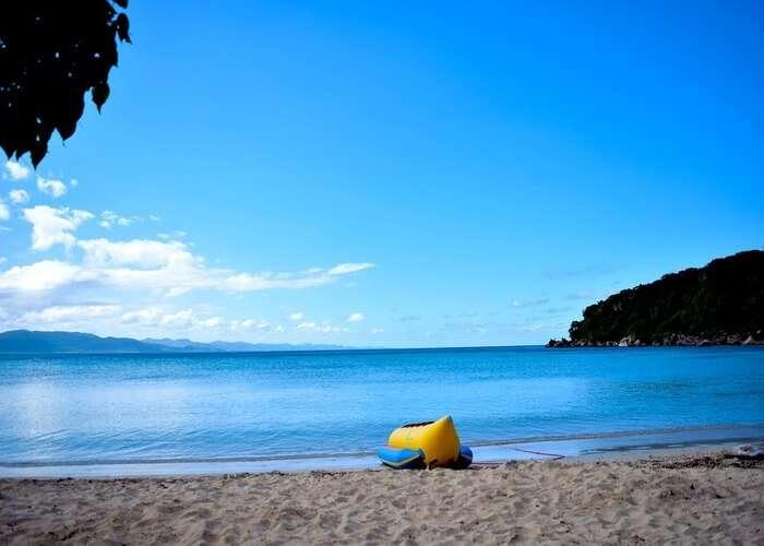 calm and quite Uzunya beach