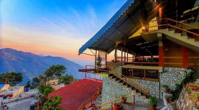 hill with mesmerising sunrise views and panoramic vistas