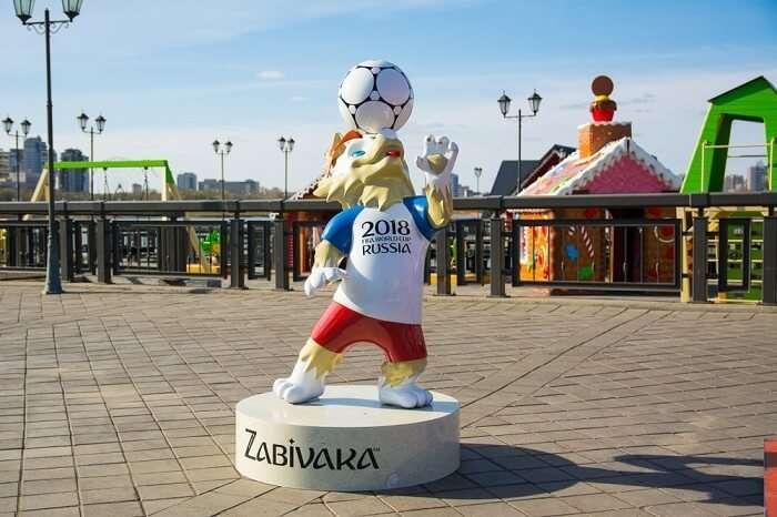Mascot FIFA 2018
