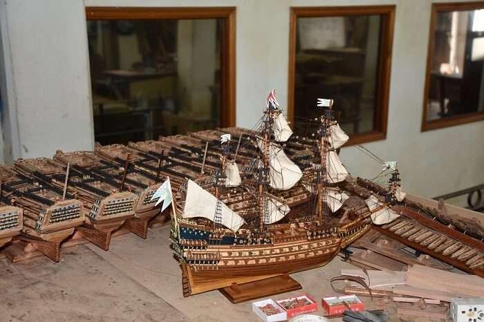 model ship factory mauritius