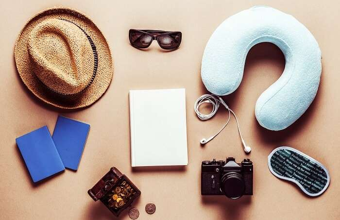 Pack all the travel accessories
