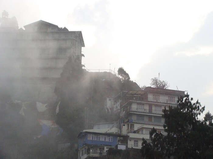 Hiils in Darjeeling