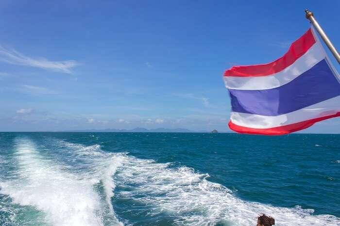 ferry ride to Krabi