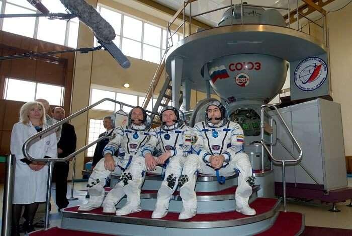 Feel weightless in Star City in Russia