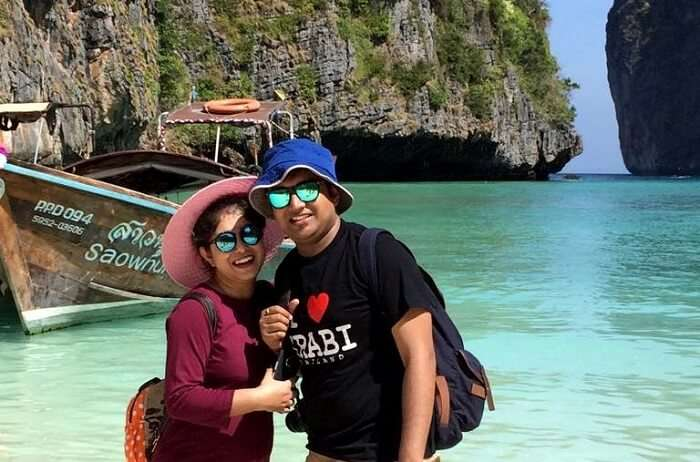 couple in krabi