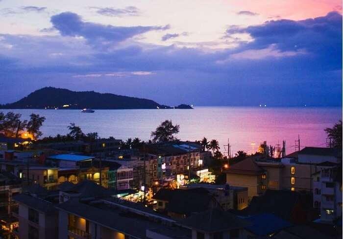 thailand during evening