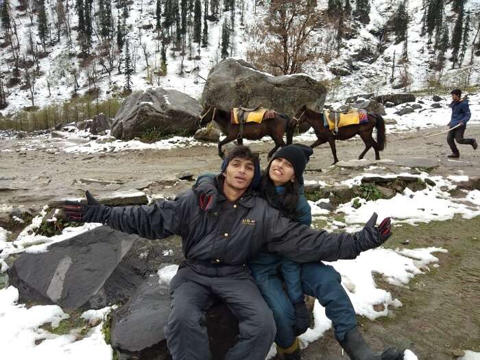 Visit to solang valley