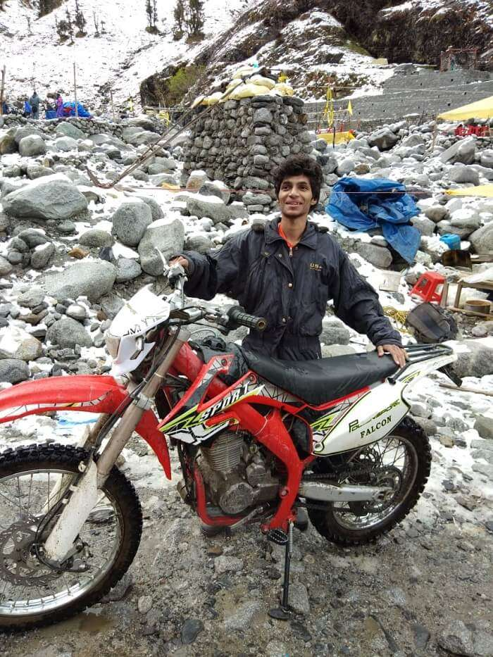 Solang in bike