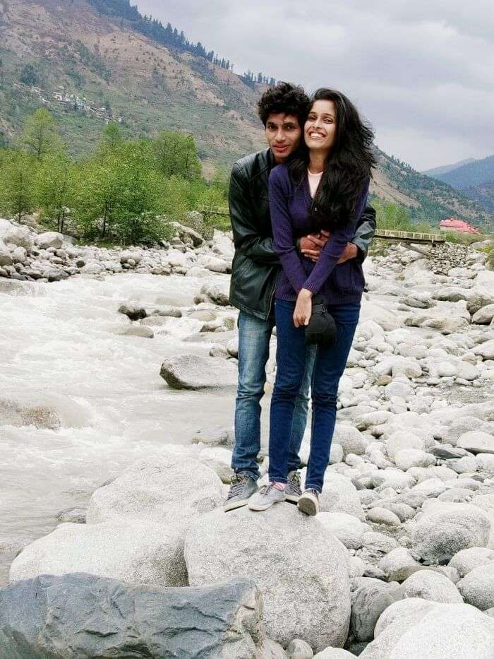 In solang valley