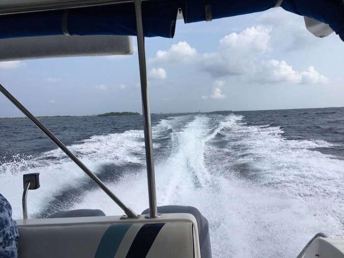 Ferry ride to island