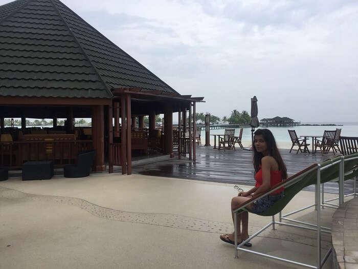 at the water villa