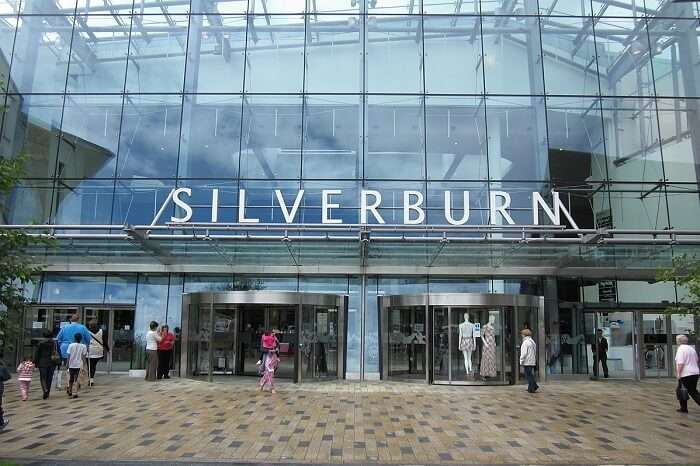 Silverburn is the biggest shopping centre in Scotland