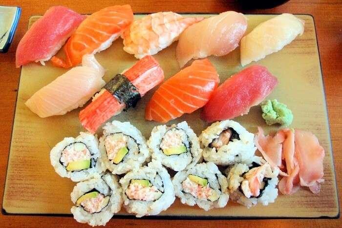 Sushi in Zuma