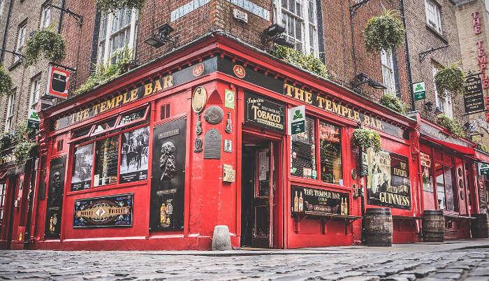 Temple Bar in Ireland