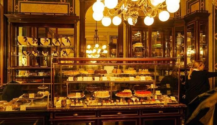 The Demel Café