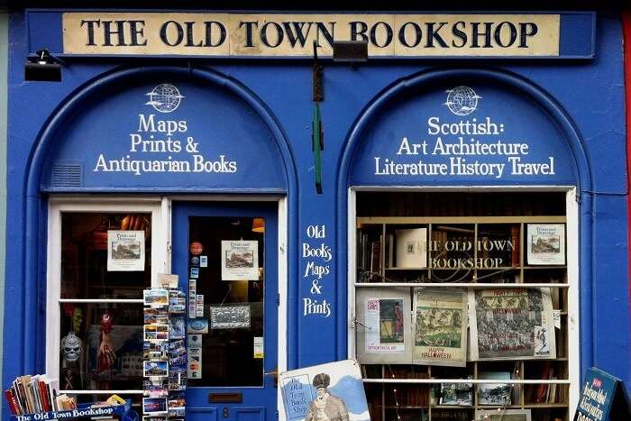 Old Town bookshop is a noteworthy store