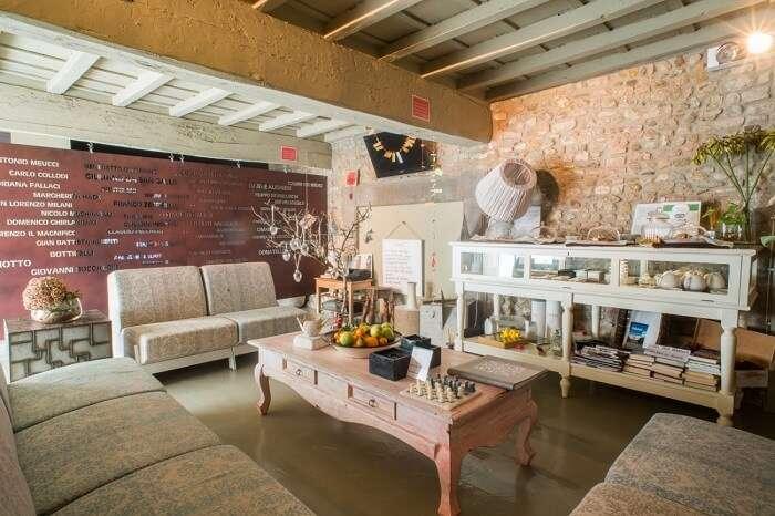 a beautiful garden and comfortable modern interiors