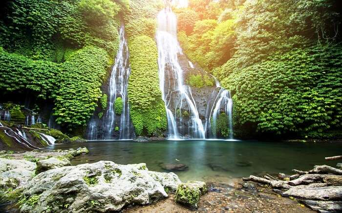 a gorgeous waterfall ss