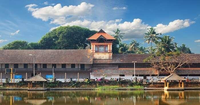 A view of Padmanabhapuram Palace