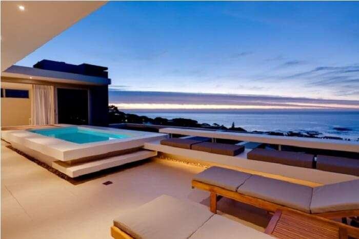 pool in Aquatic villa