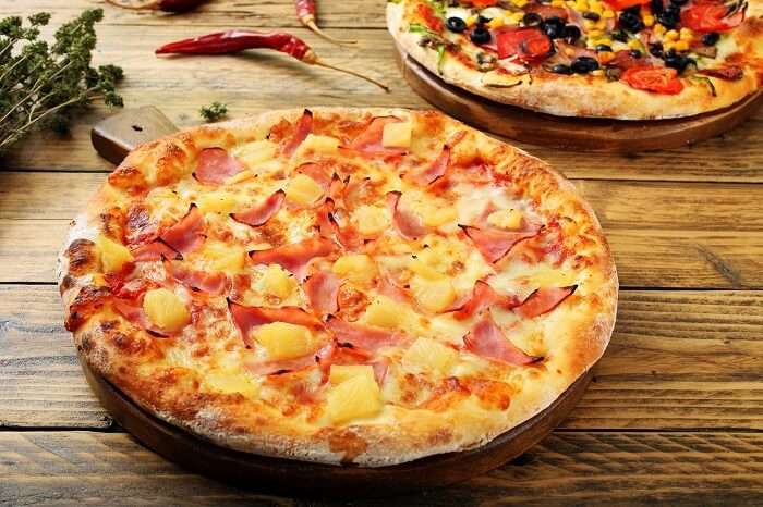 mouth watering pizza