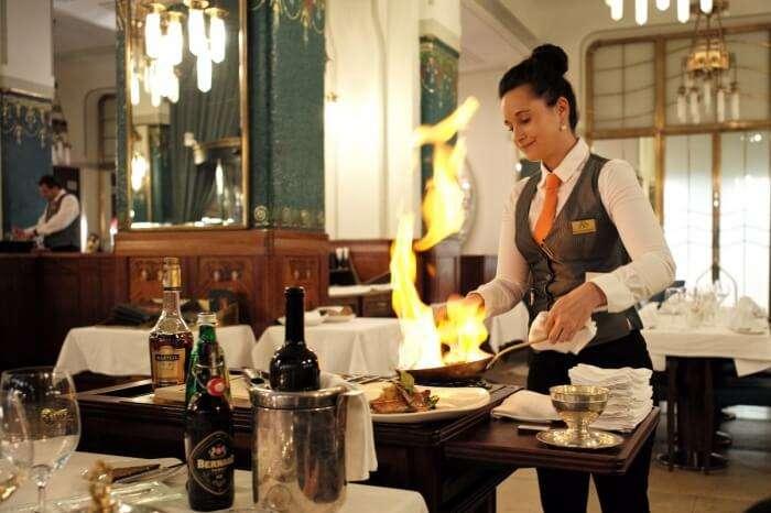dinners at the best Prague restaurants