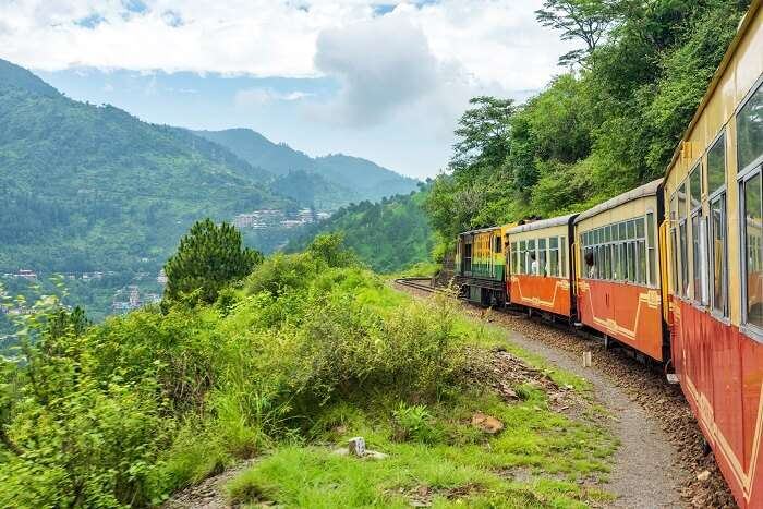 himachal train hills