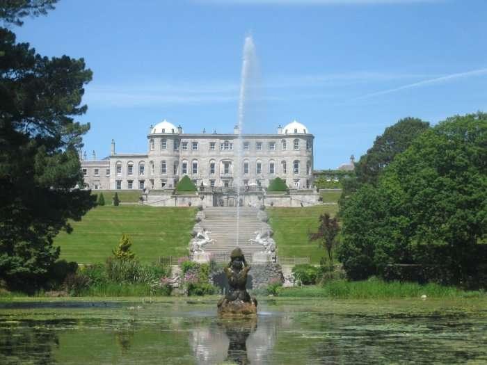 Powesrcourt house and gardens