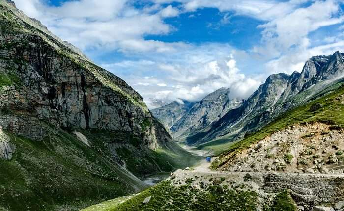 spiti valley during august