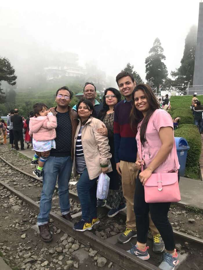 family trip to sikkim