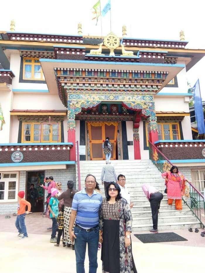 monastery sikkim