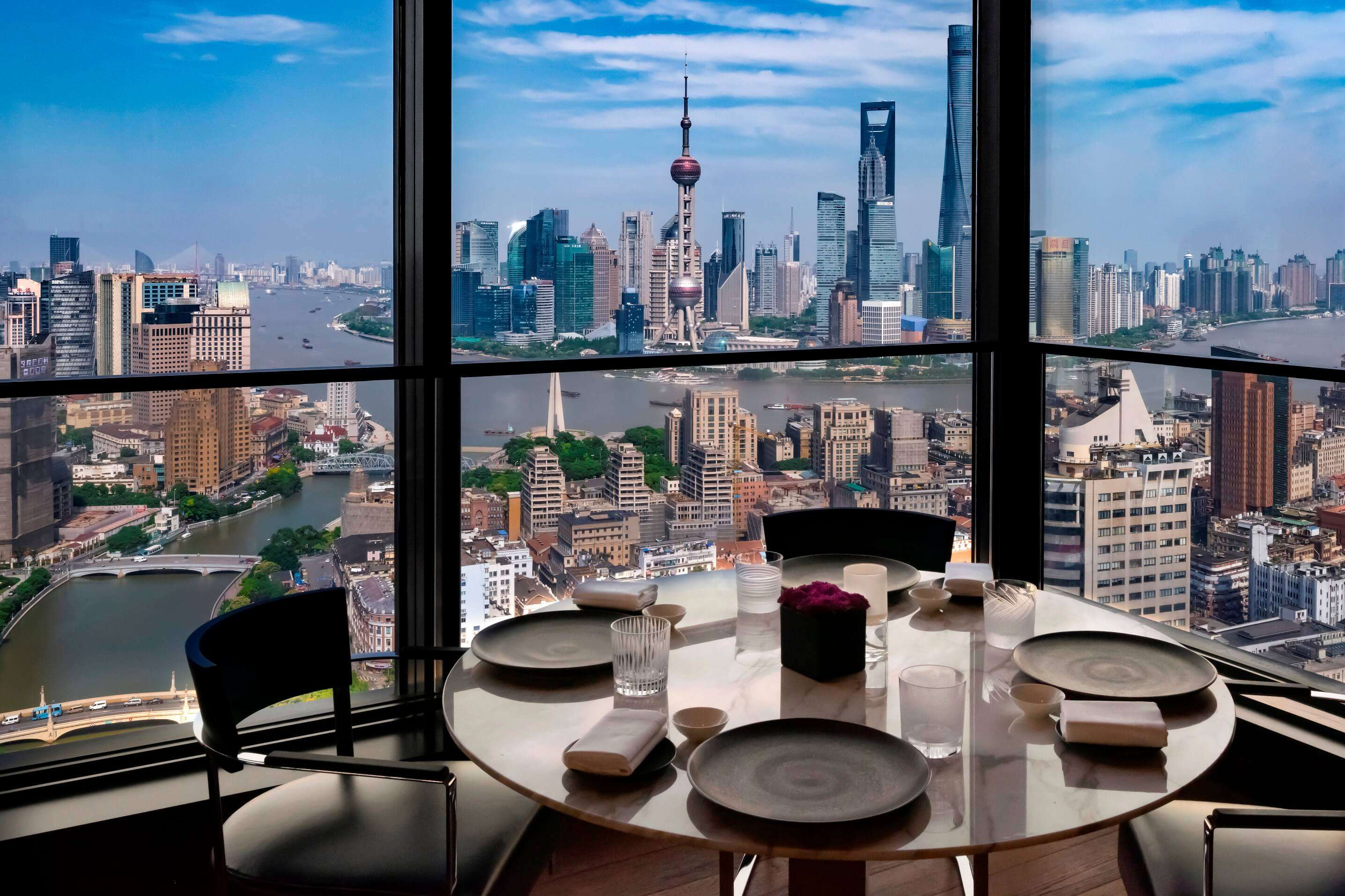 a gorgeous view from a room in Bvlgari