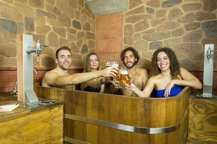 Beer spa Granade in Spain