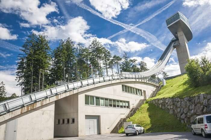 spectacular views of Tirol's mountain scenery