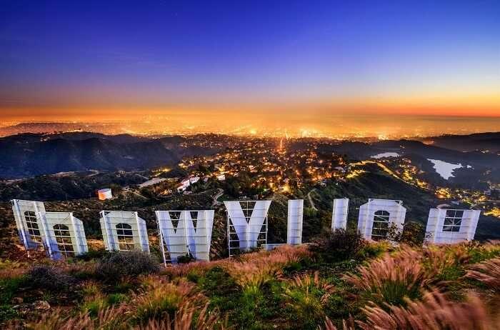 Aerial Tram By Warner Brothers Los Angeles