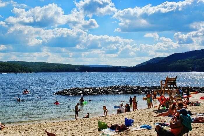 Deep Creek Lake State Park Beach