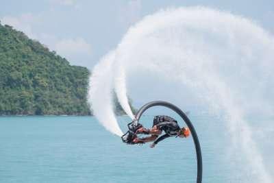 Flyboarding