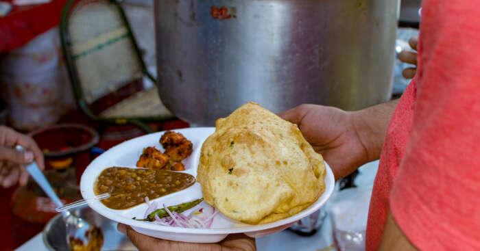 chole bathure in amritsar