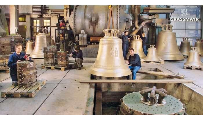 showcases the craftsmanship of the Grassmayr company
