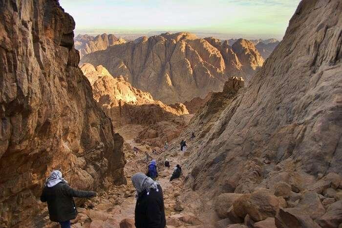Hike to Mt. Sinai