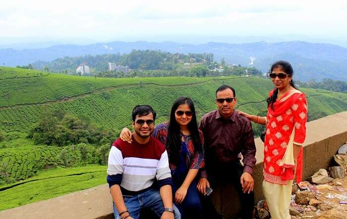 family in munnar