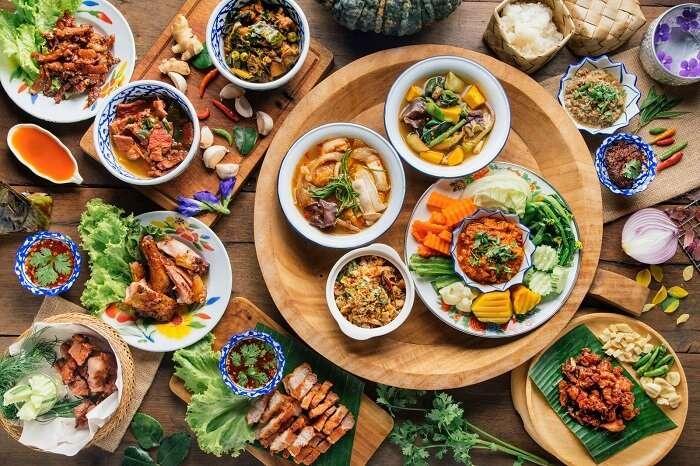 Relish authentic Thai food