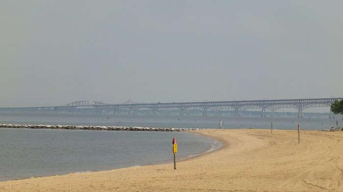 Beach at Sandy Point