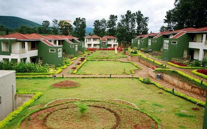 A resort in Araku Valley in Andhra Pradesh